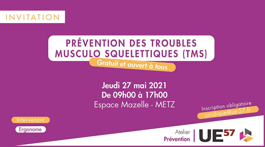 Atelier prevention TMS